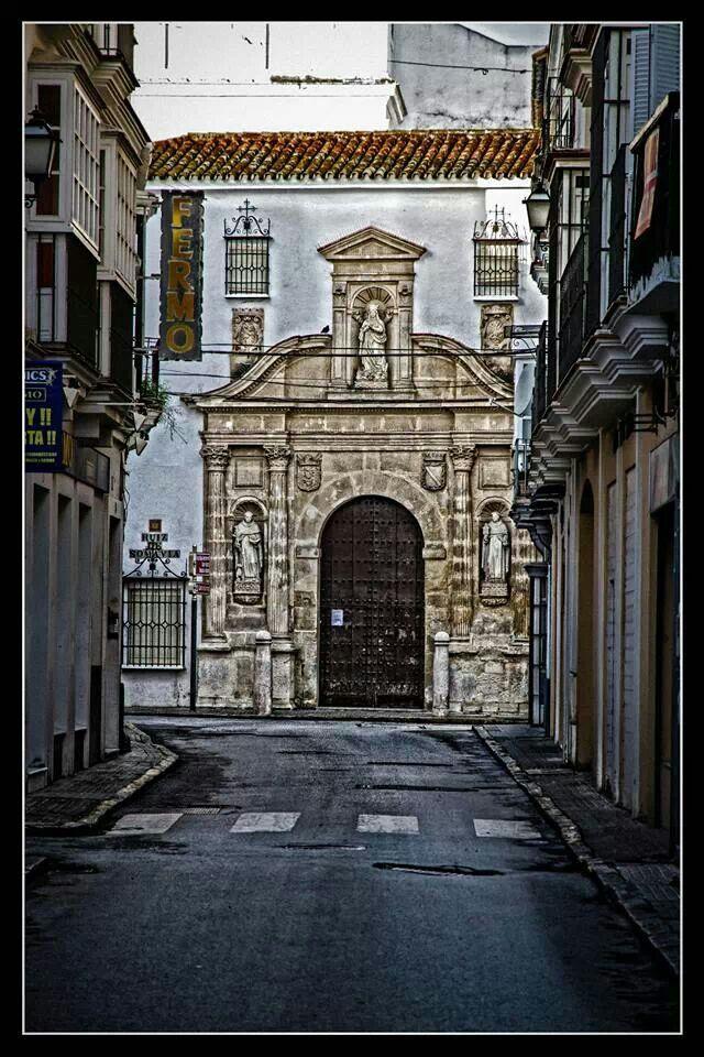 Calle Torno Al Fondo Madre De Dios Sanlúcar De Barrameda Cádiz Cádiz España Viajes