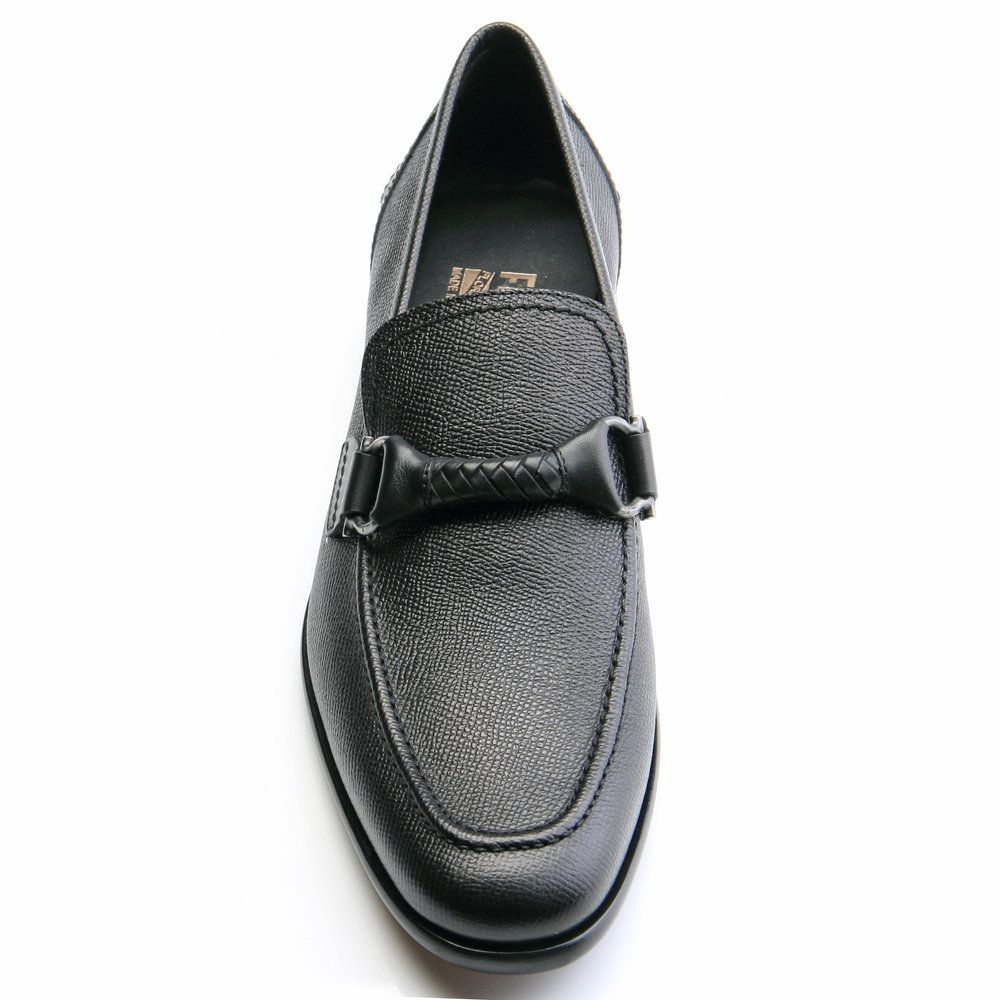 Limited Edition Cheap Online Discount 100% Authentic twisted Gancio loafers - Grey Salvatore Ferragamo mdxHA