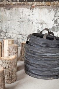 LIVING + DECOR - monique rubber basket large - Nest