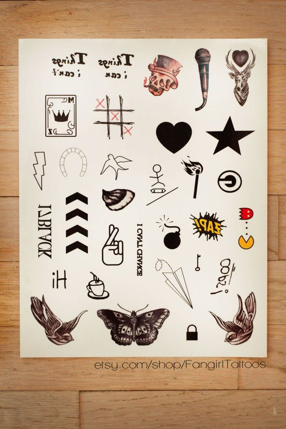 One Direction Tattoos ...