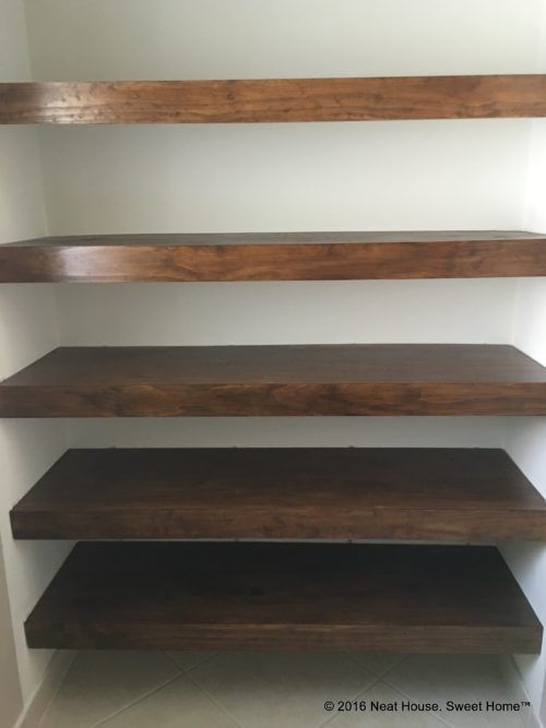 Cleaning Sticky Vinyl Clad Wire Shelves | Goodbye Ugly Wire Shelving Give Your Closet A Custom Built Look