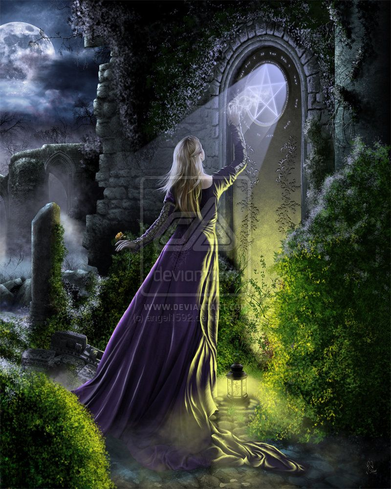 Witness An Ancient Magick by angel1592.deviantart.com