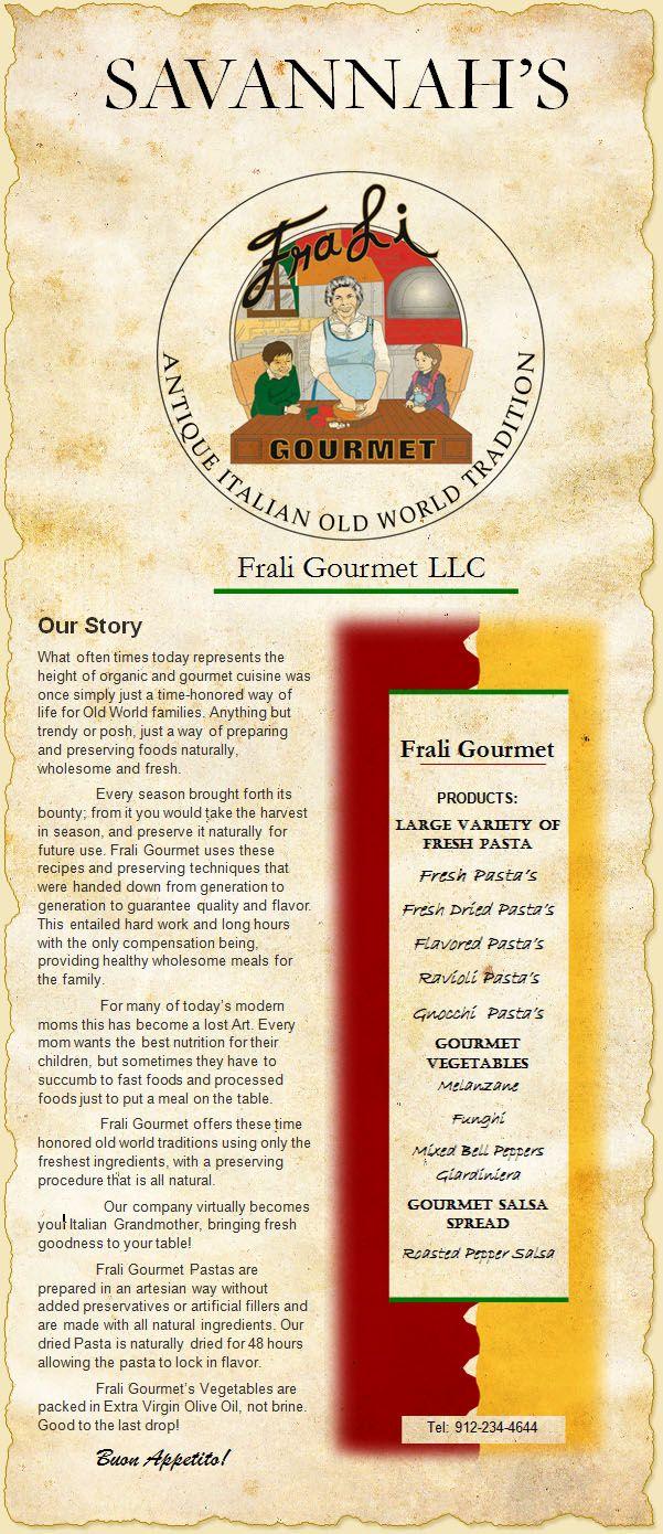 Frali Gourmet In Savannah