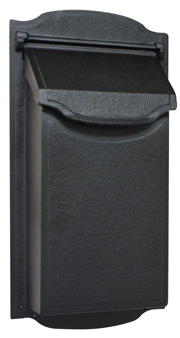 Contemporary Vertical Wall Mount Mailbox Wall Mount Mailbox Mounted Mailbox Post Box Wall Mounted