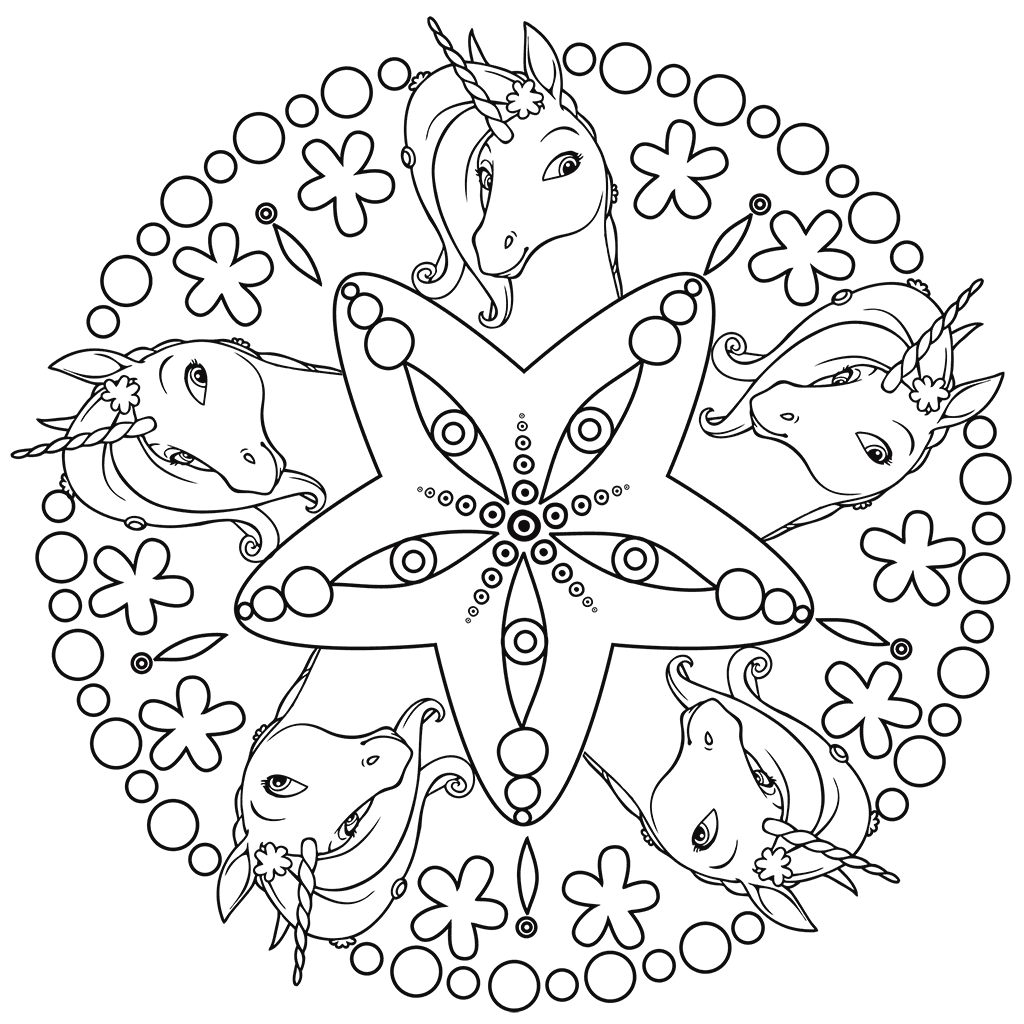 Mia And Me Coloring Pages Best Coloring Pages For Kids Unicorn Coloring Pages Mandala Coloring Pages Coloring Pages