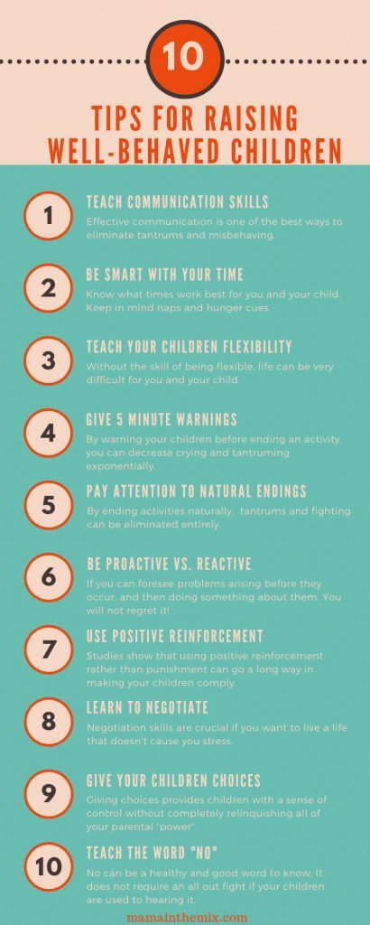 5 tips for creating habits that make well-behaved children.