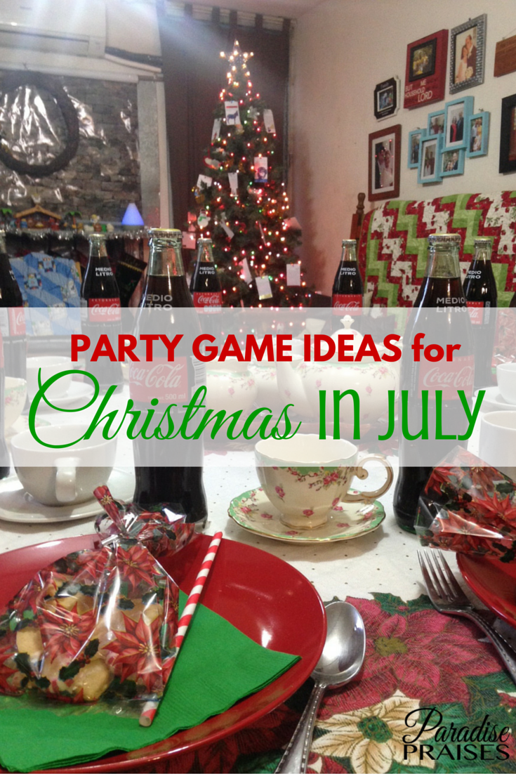 7 Cool Party Game Ideas for Christmas in July Christmas