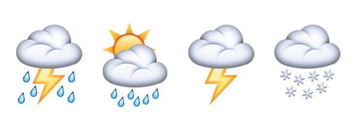 New Cloud Emoji For All Your Weather Related Needs Cloud Emoji Emoji Tattoo Emoji