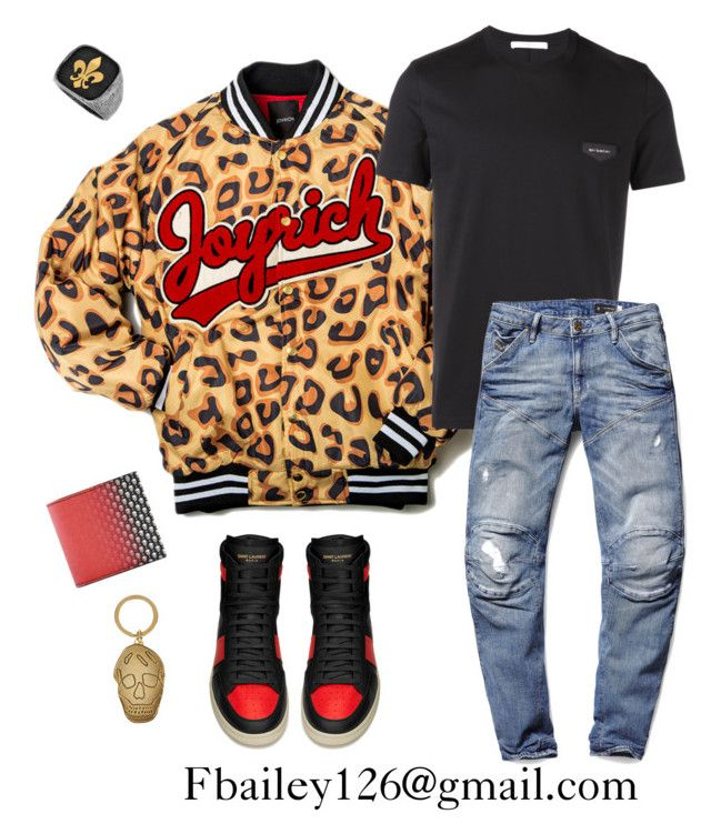 """""""Untitled #464"""" by fbailey126 ❤ liked on Polyvore featuring Joyrich, Givenchy, Yves Saint Laurent, G-Star Raw, Alexander McQueen, women's clothing, women's fashion, women, female and woman"""