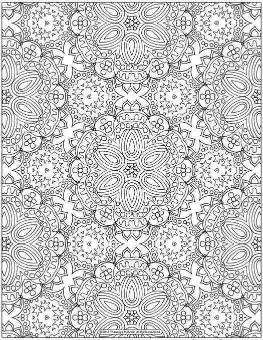 coloriage anti stress pour adulte imprimer gratuitement - Dessin Anti Stress Imprimer