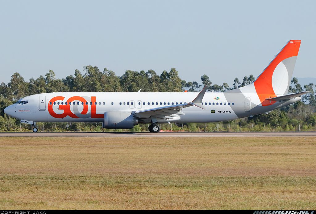 Boeing 737 8 Max Gol Transportes Aereos Aviation Photo