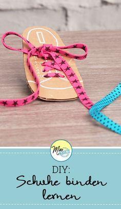 Eine Geniale Bastelidee Zum Schuhe Binden Lernen Kustpadagogin