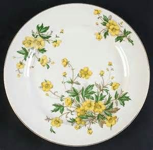 Edward Knowles buttercup plate