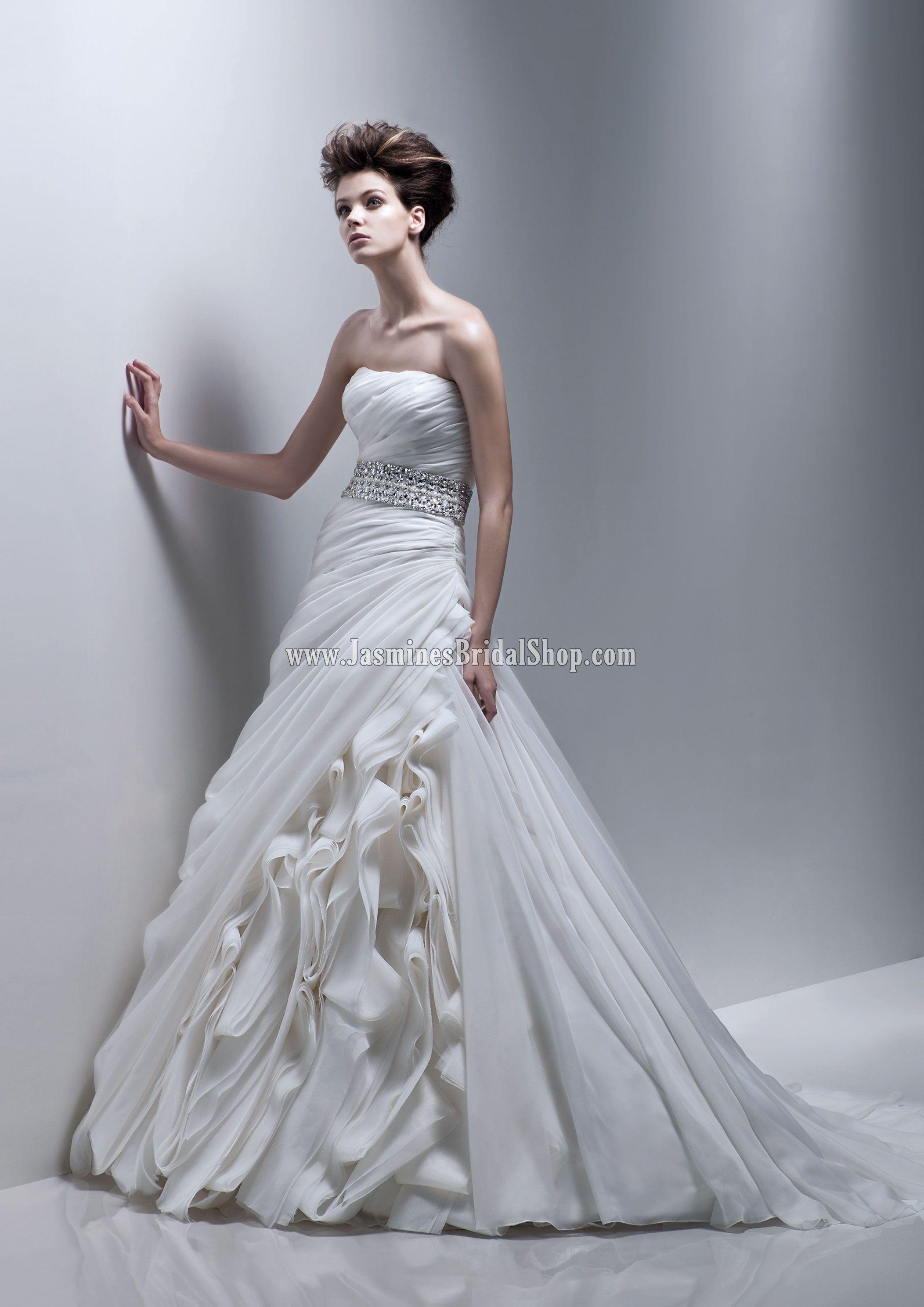 Fabi Bridal Gown (2011) Designer Bridal Inspirations Enzoani Jasmine's Bridal Shop - Wedding Dress, Cocktail Dress, Bridal Accessories