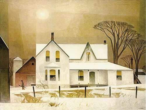 A.J. Casson Winter Sun