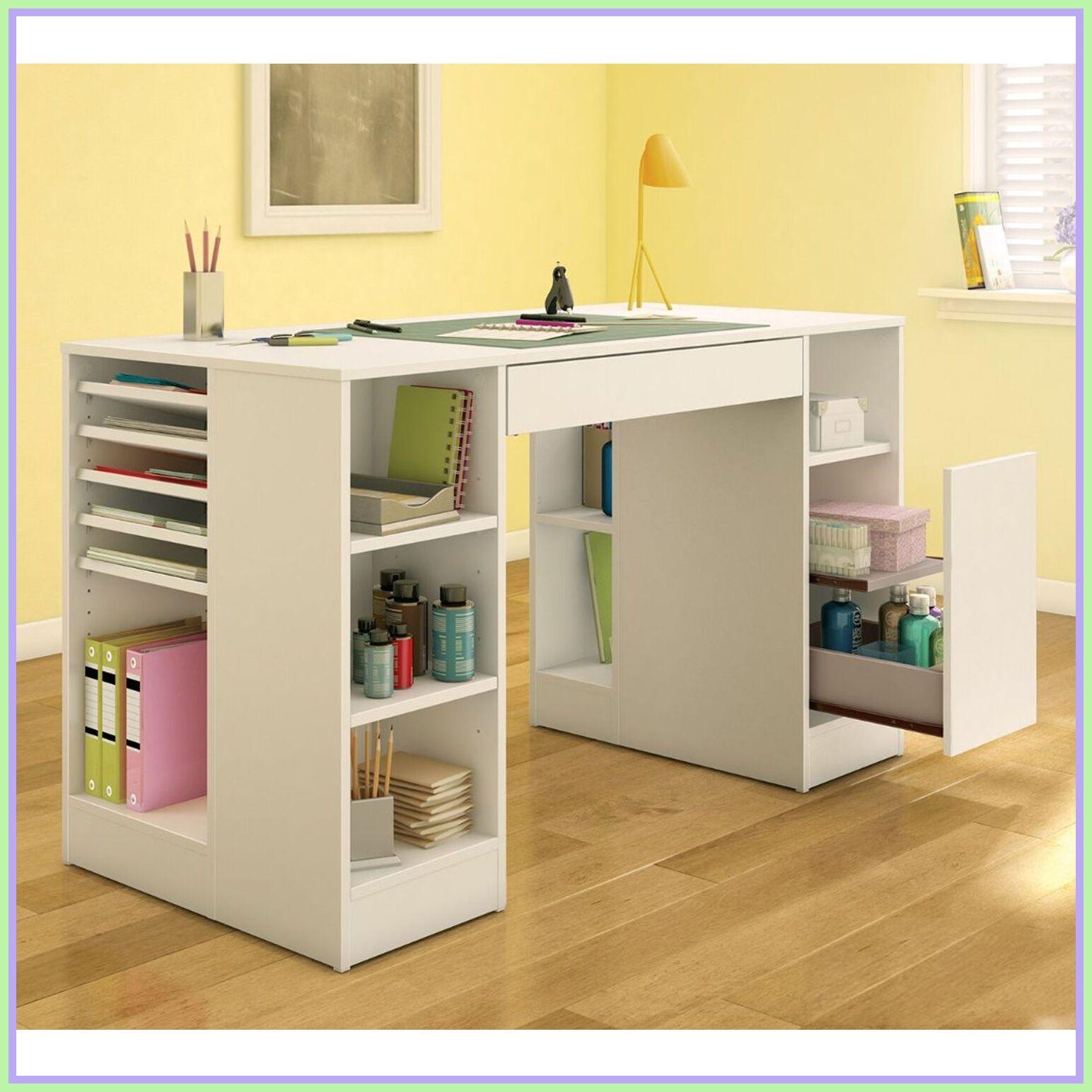 128 Reference Of Diy Craft Desk With Drawers Craft Room Organization Storage Craft Table Diy Crafts Desk