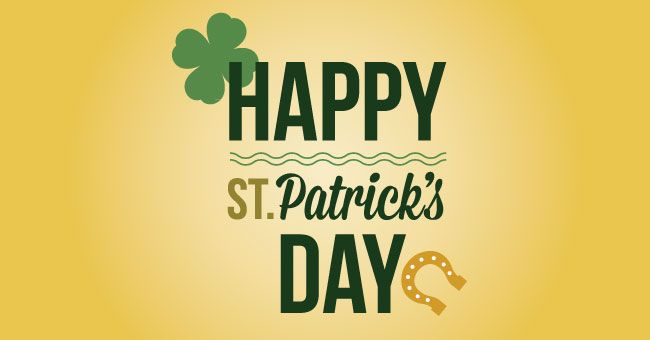 Happy Saint Patrick S Day Http Schneider Insurance Com