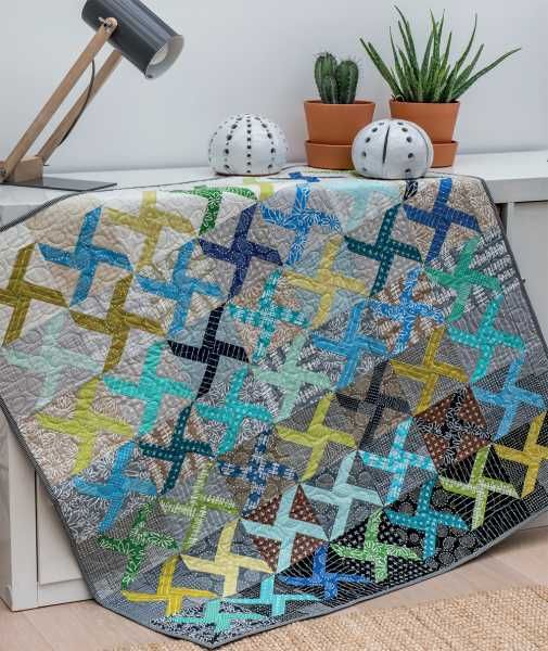 Mieke Duyck Making Happy Quilts Modèle Et Patron Quilt Playing