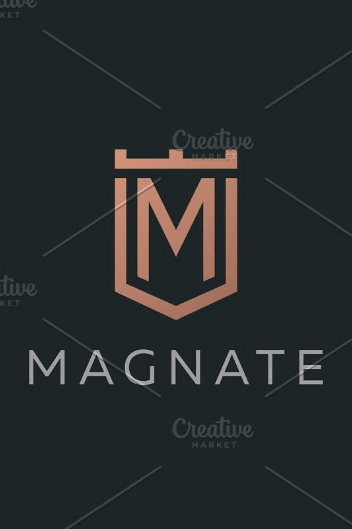 Premium monogram letter M initials Monogram letters