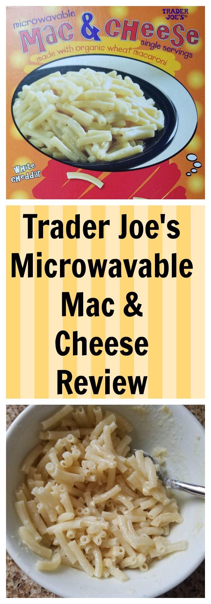 Trader Joe S Microwavable Mac And Cheese Cheese Nutrition Nutrition Nutrition Recipes