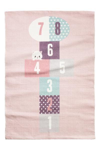 Tappetino in cotone con stampa | H&M