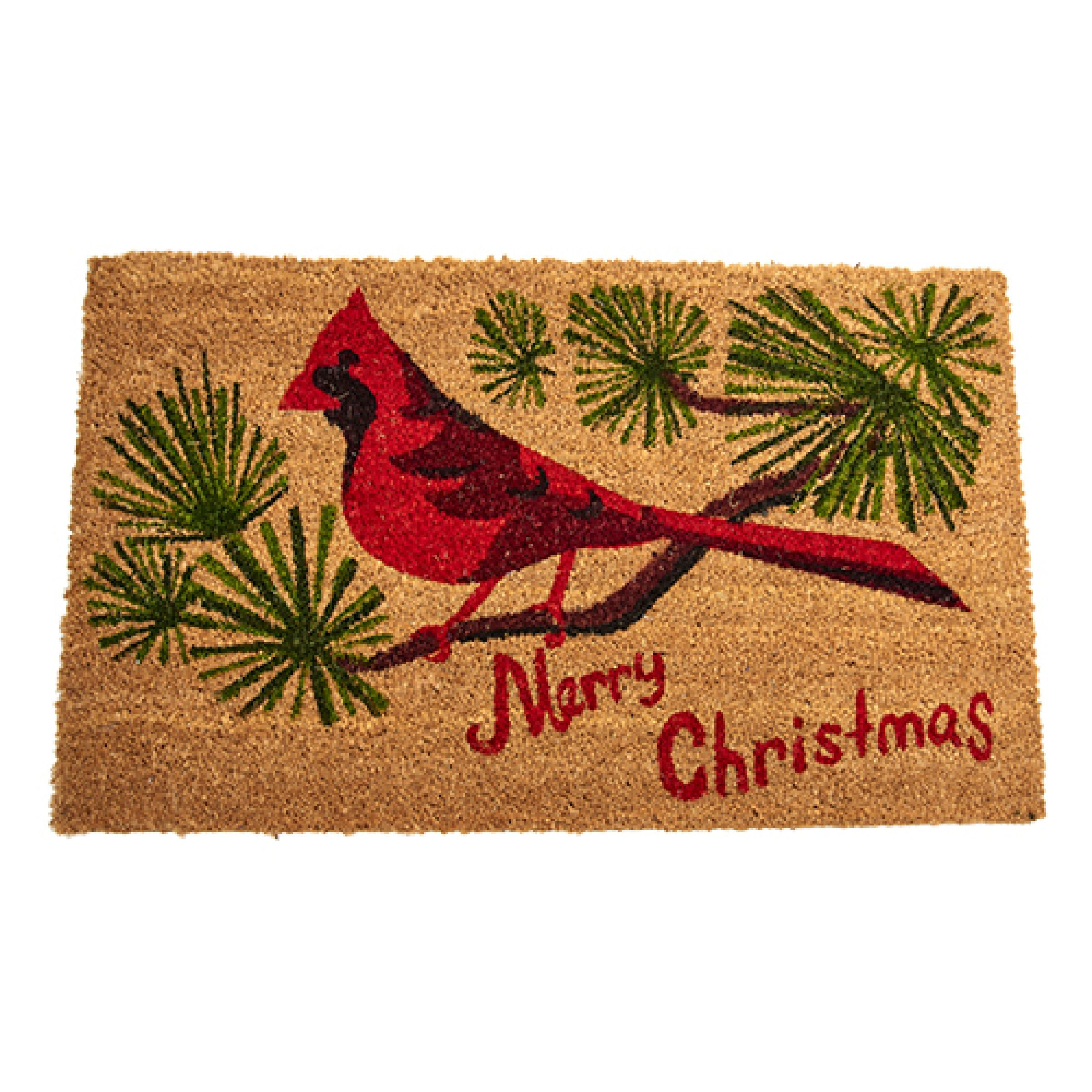 Boscov's Shower Curtains Cardinal Merry Christmas Choir Doormat Boscov S Boscov S Home