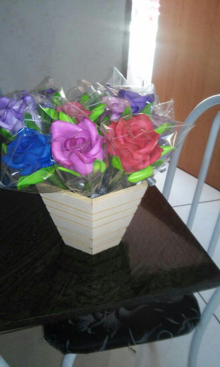 Flores  canetas