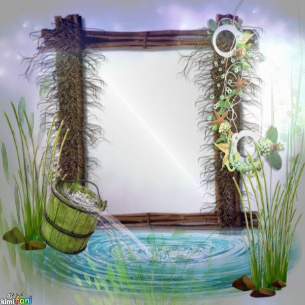 Nature Frame   Imikimi creations   Pinterest