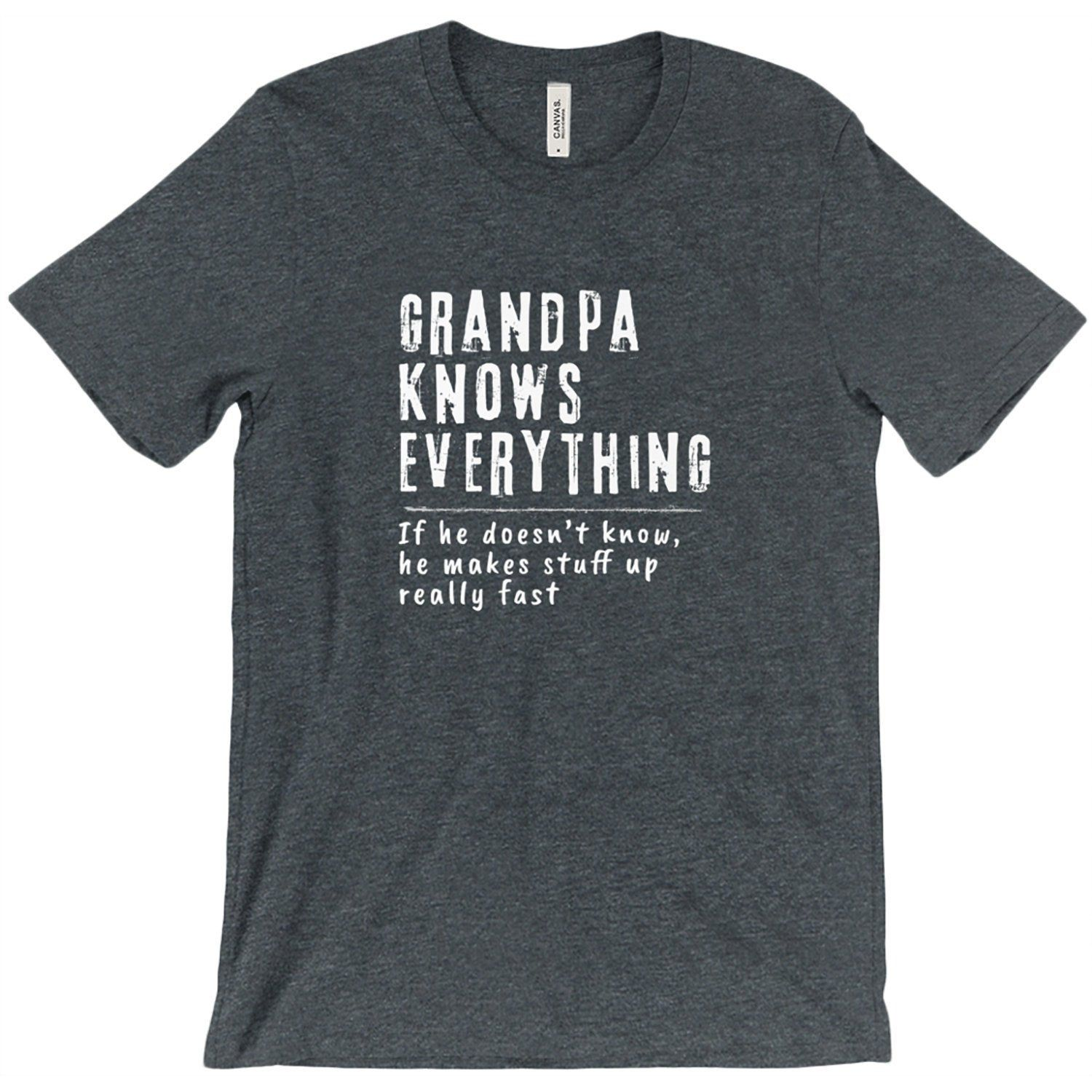 Personalized Grandpa Shirt for Papa, Gigi, Pop... Premium Grandpa TShirt, Funny Grandpa Gift Christmas Gift Birthday T-shirt #grandpagifts