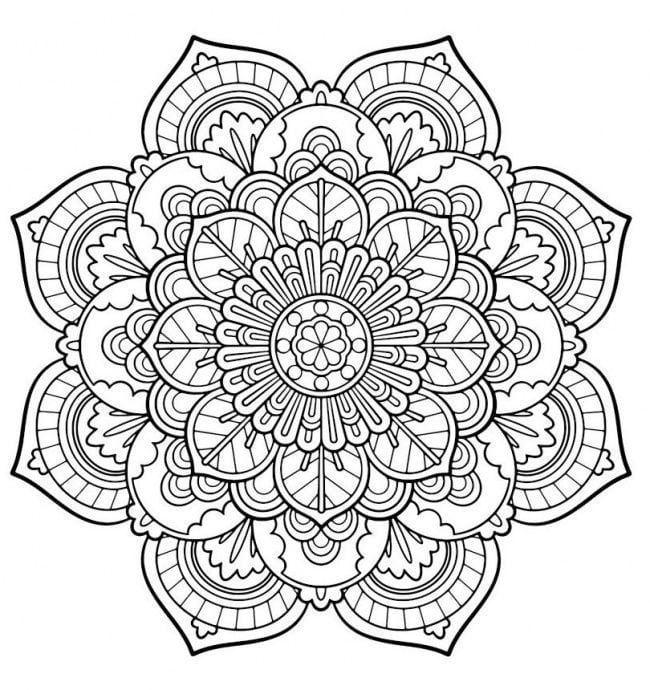 Mandalas Para Imprimir Mandala Coloring Mandala Coloring Books Mandala Coloring Pages
