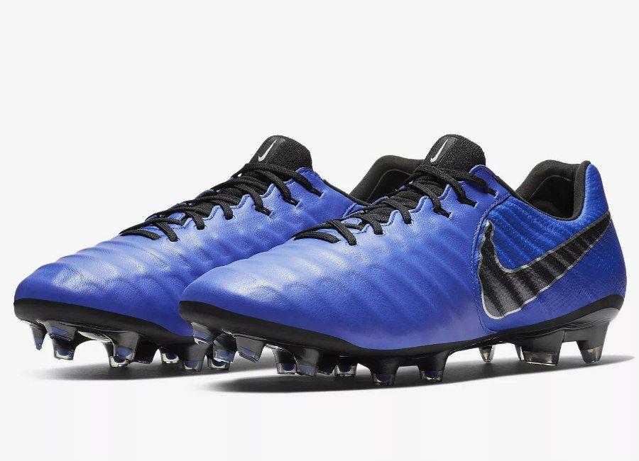 Nikefootball Nike Tiempo Legend Vii Elite Fg Always Forward Racer Blue Metallic Silver Black Nike Football Boots Adidas Soccer Boots Soccer Boots