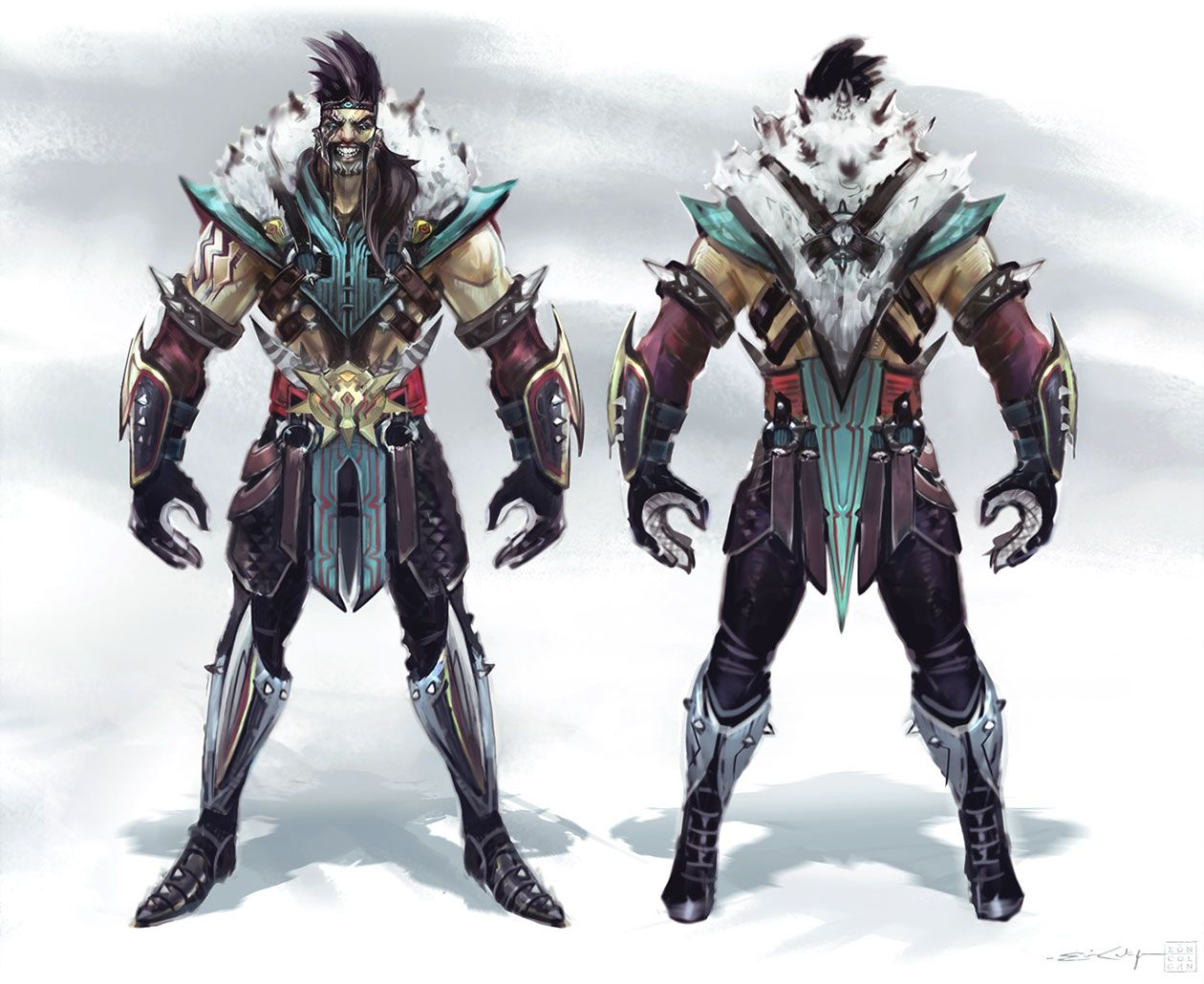 Character Design League Of Legends : Draven alejo pinterest concept art character
