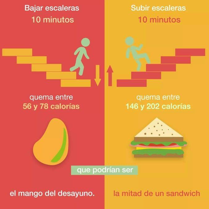 Bajar de peso subiendo escaleras