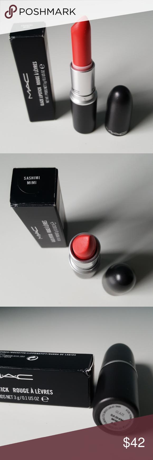 RARE ☆ MAC Cosmetics SASHIMI MIMI Lipstick In Box in 2020