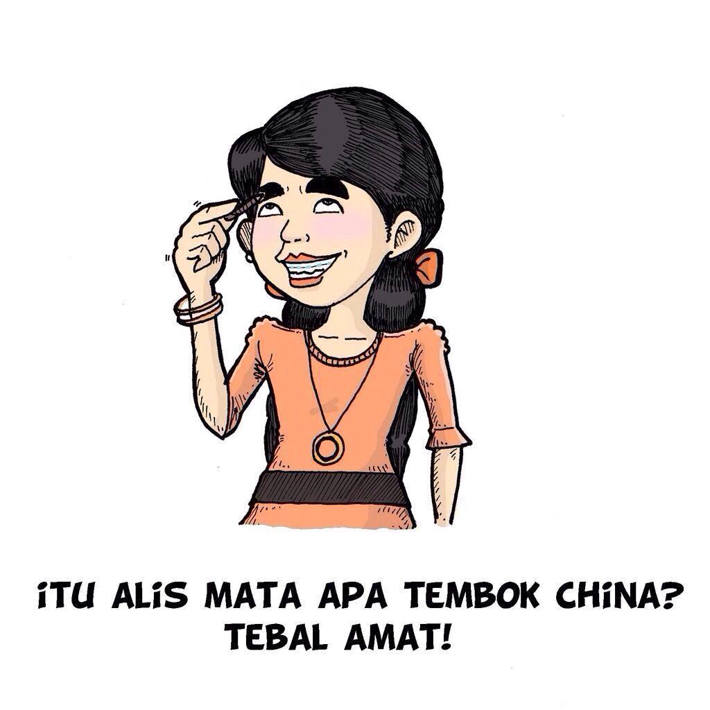 Itu Alis Mata Apa Tembok China Tebel Amat Indonesia