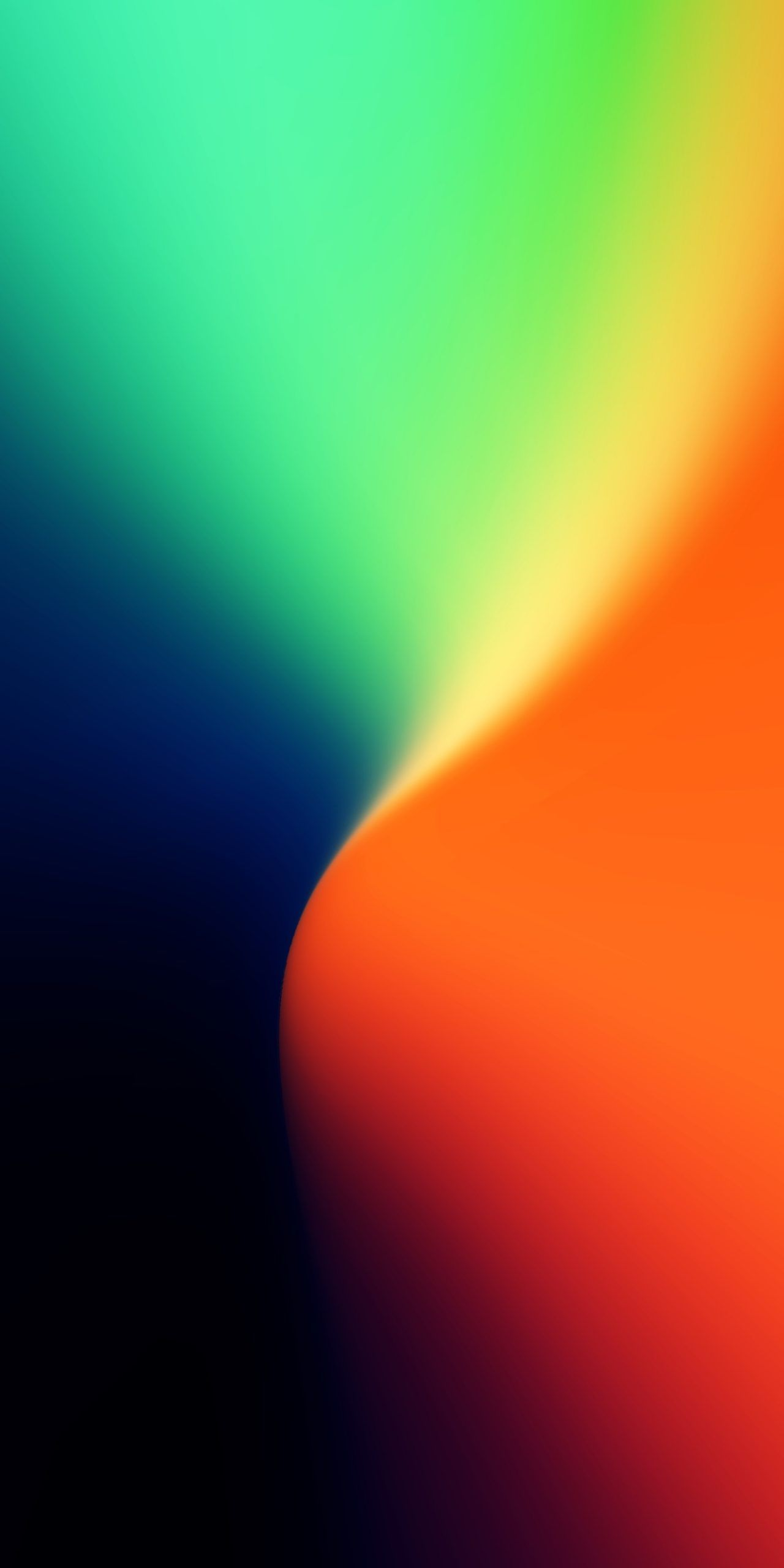 Gradient Blue Orange Green And Yellow By Ongliong11 Color Wallpaper Iphone Colourful Wallpaper Iphone Iphone Wallpaper Gradient