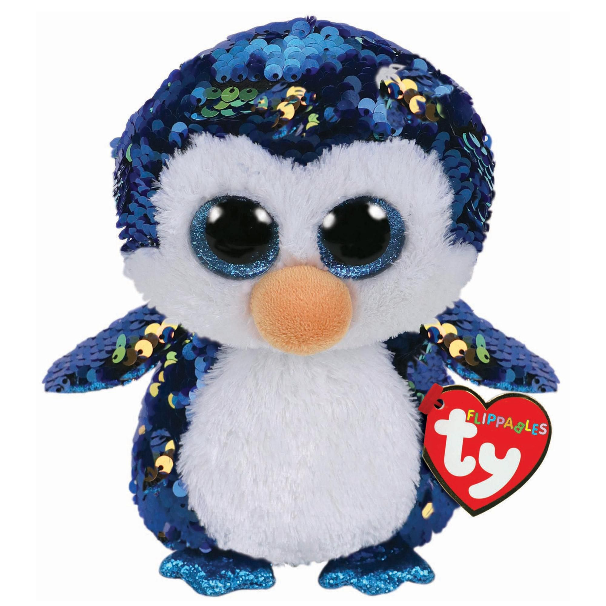 585efc8fb0f TY Payton Penguin Sequin Flippable Boo - £8.00 - Hamleys for Toys and Games