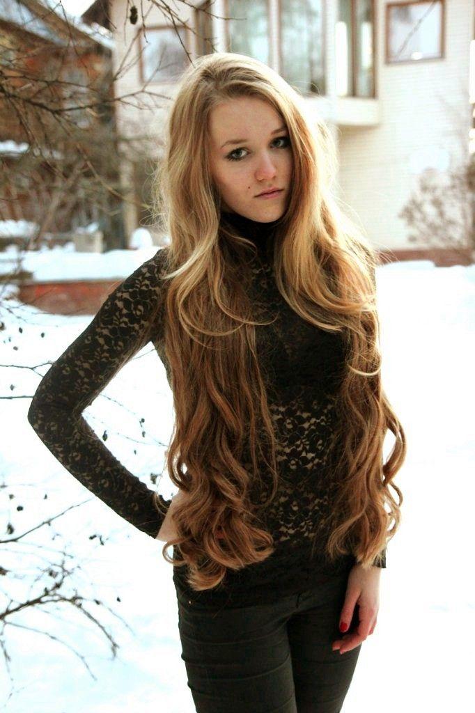 Really long hair porn