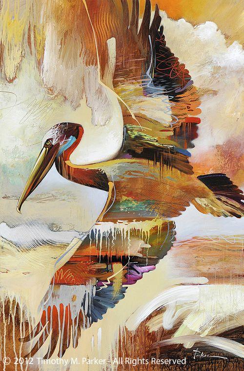 RAINBOW RAPTOR 8X10 HAWK BIRD  Print from Artist Sherry Shipley
