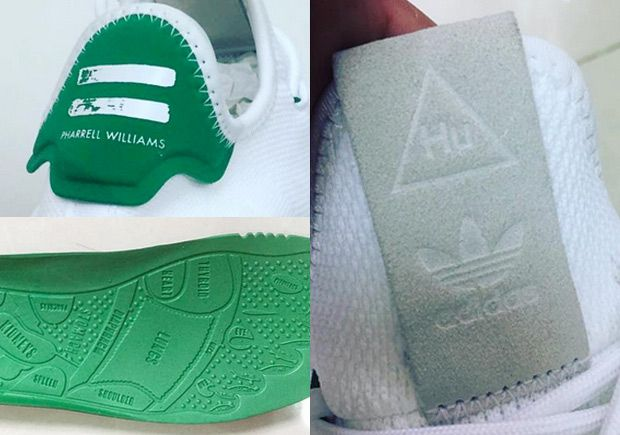 #sneakers #news  Pharrell's Next adidas Human Race Shoe Resembles The Stan Smith