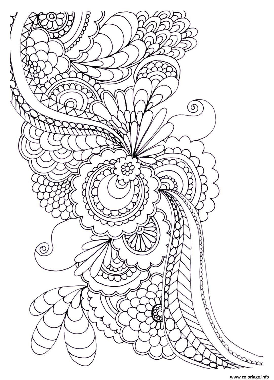 coloriage adulte zen anti stress a imprimer 5 dessin imprimer - Coloriage Imprimer Adulte