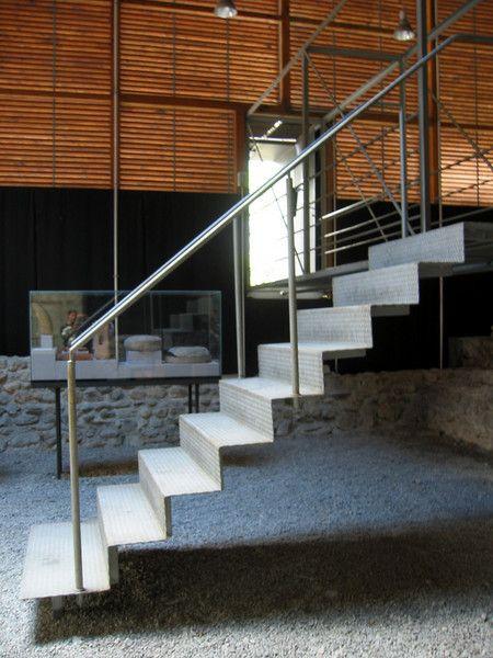 Zumthor stair at Roman Ruins