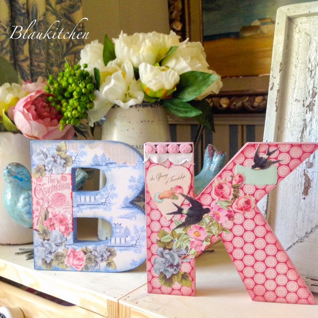 Letras Decoradas Scrap Un Poco De Craft And Scrap Letras Decoradas Crafts