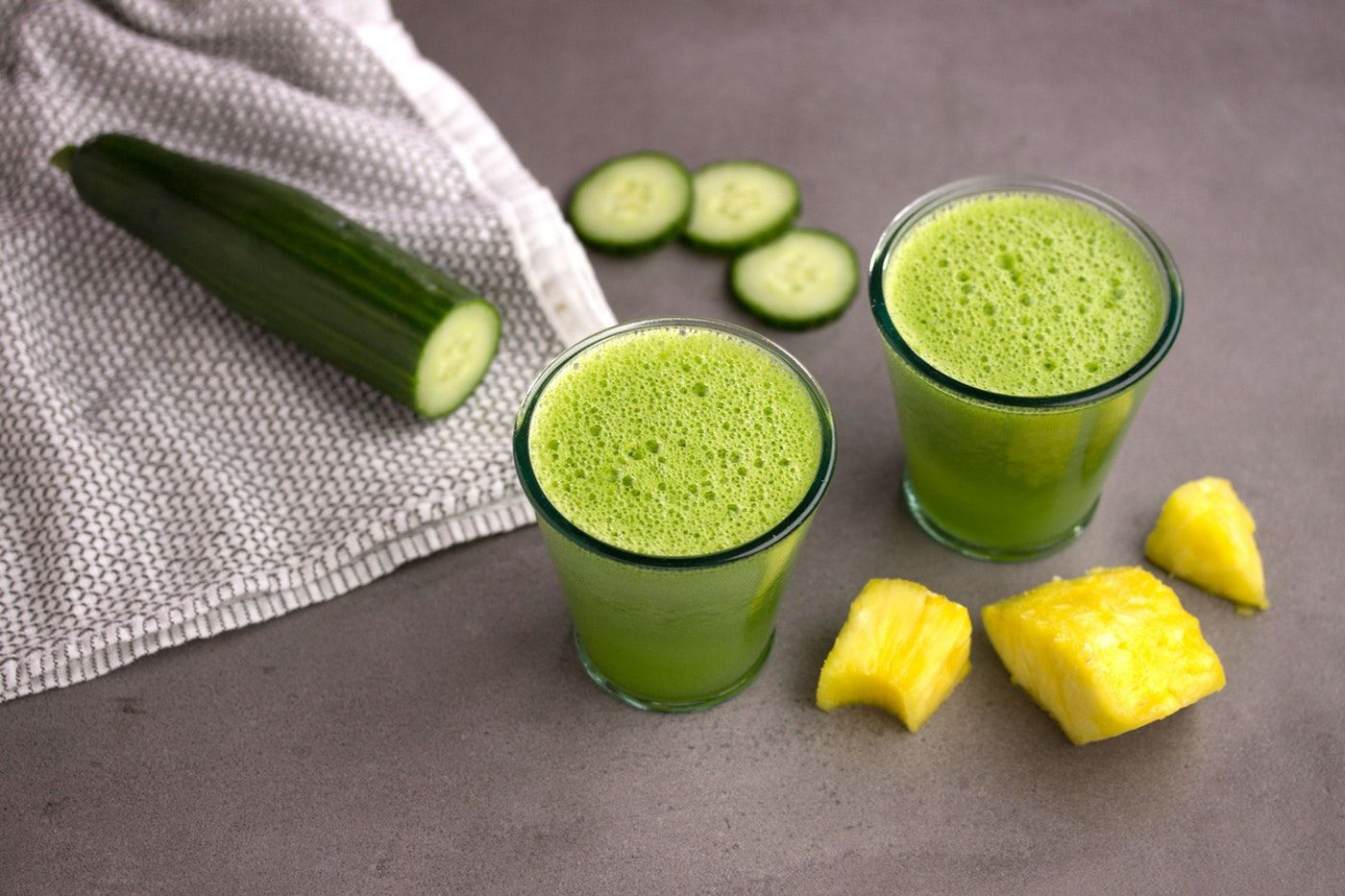 Pineapple Cucumber Hero | Mmmmm | Cucumber smoothie, Celery