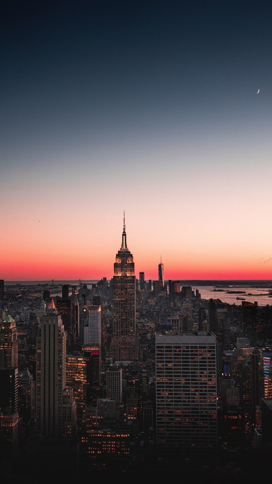 After The Sunset Wallpaper Iphone Android New York Iphone Wallpaper City Iphone Wallpaper New York Wallpaper