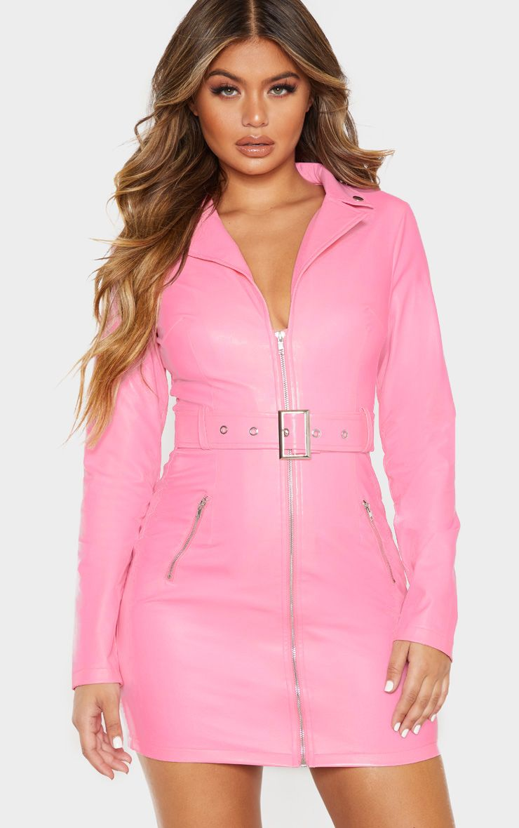 12++ Pink leather dress ideas in 2021