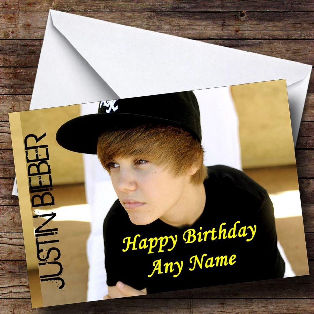 8 Design Justin Timberlake Happy Birthday Card in 8  Happy