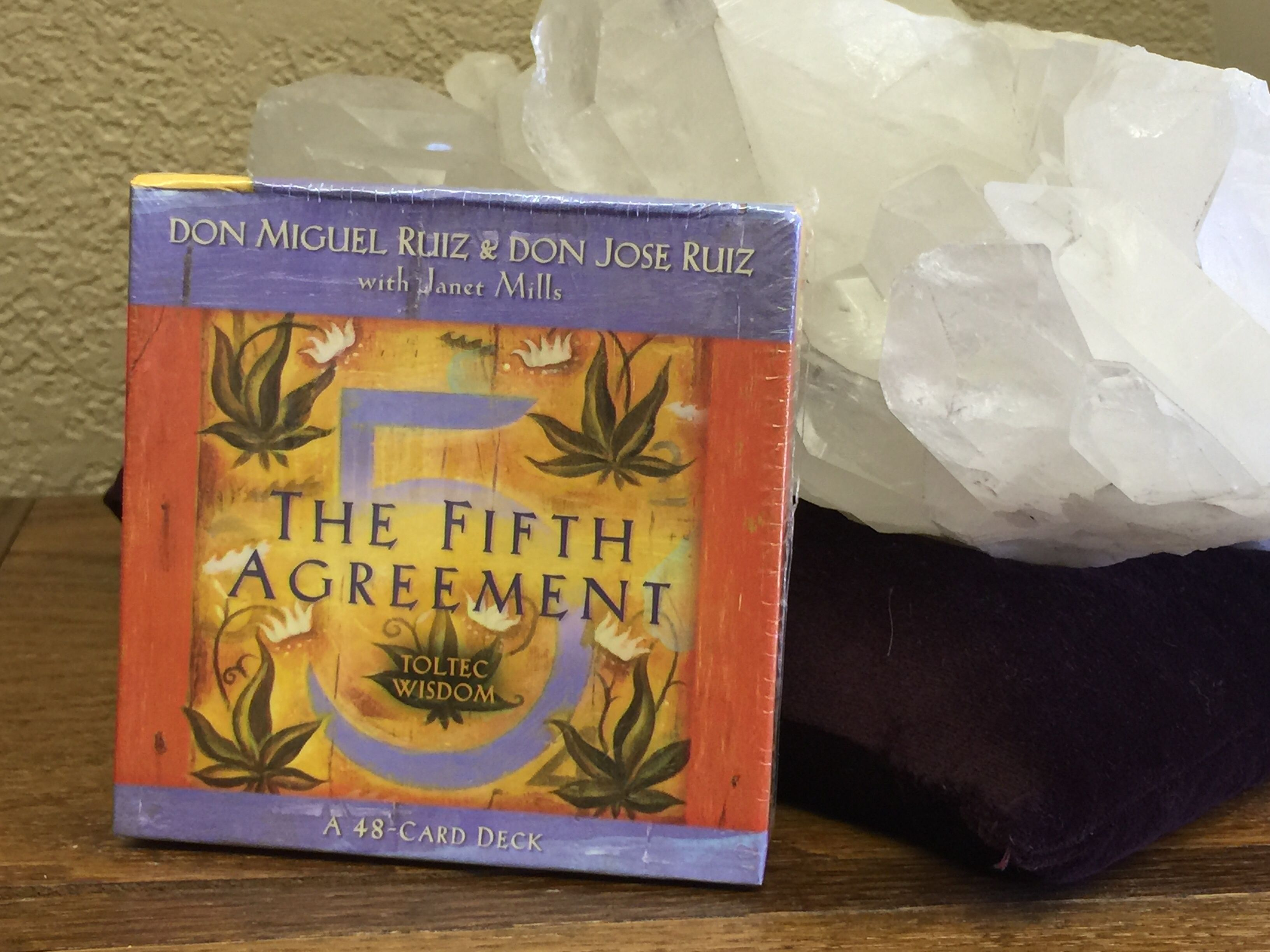 The 5th Agreement Ruiz Card Decks Pinterest Card Deck