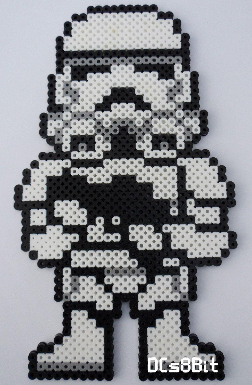 Stormtrooper - Star Wars perler beads by DCs8Bit