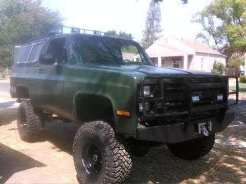 CHEVY K5 Blazer Silverado Fuel Injected 4x4 lifted custom - $11500 (Sacrameto Ca.) - Sacramento - classifieds - reachoo.com